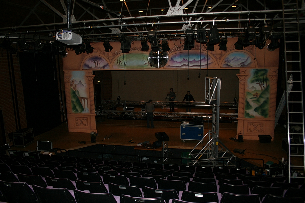 Stage from auditorium