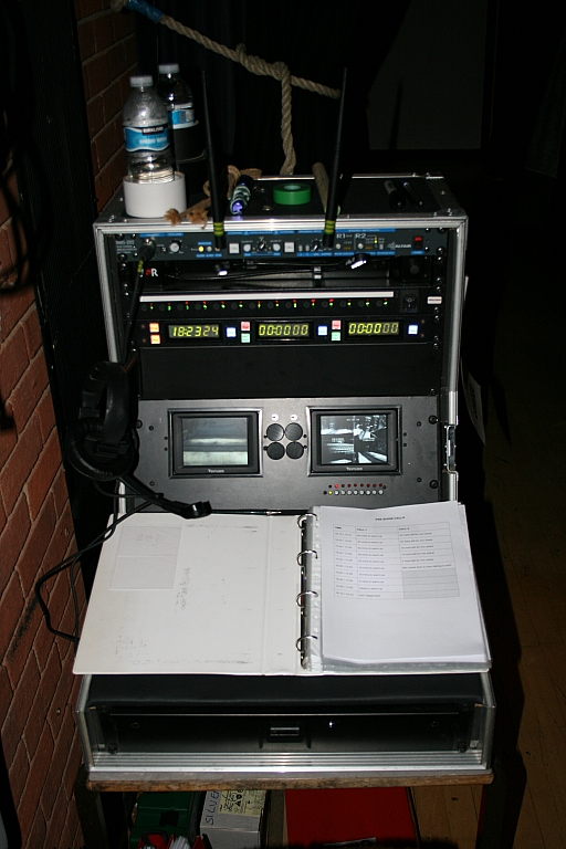 Stage manager's desk