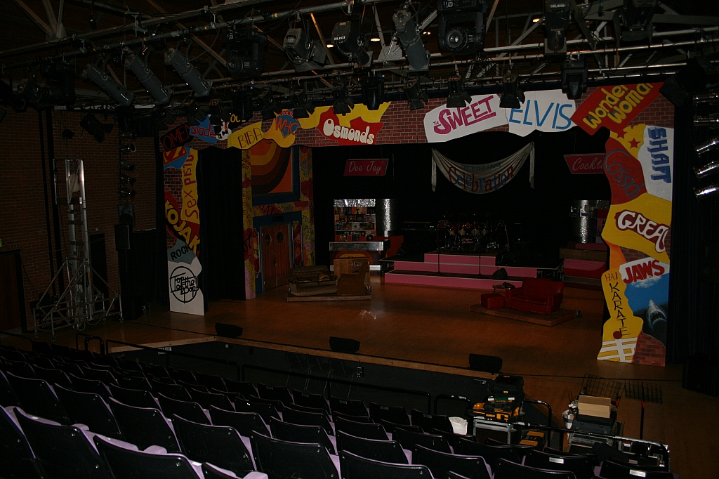 Full stage view from auditorium