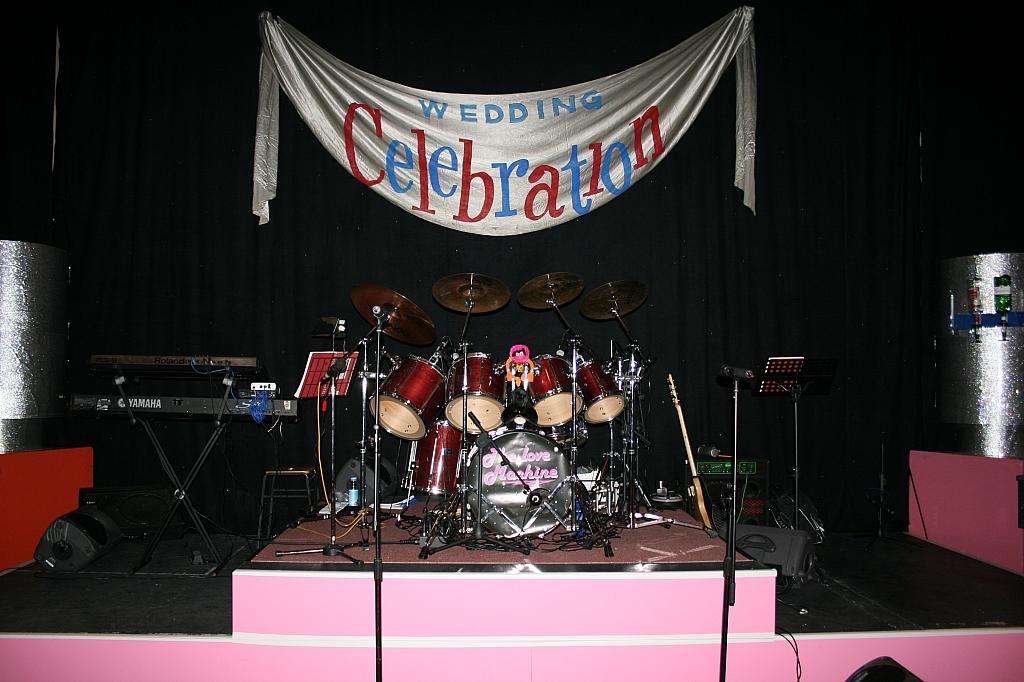 Drummer podium